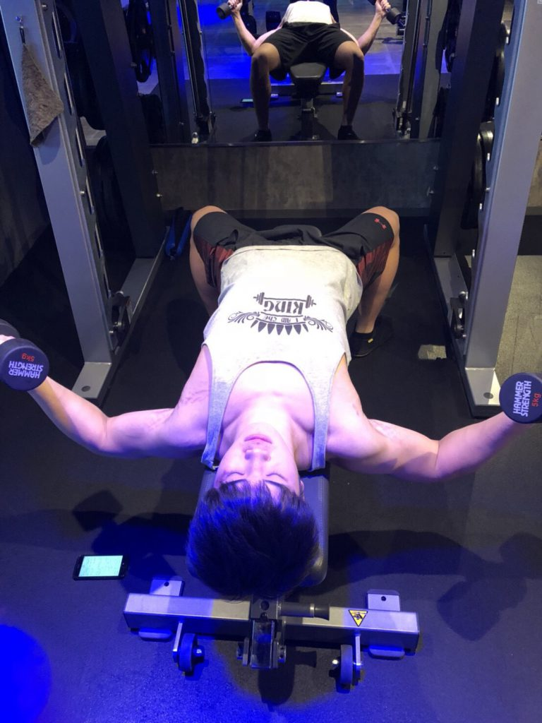 ダンベルフライ、胸のトレーニング、トレーニング胸、筋トレ、トレーニング、谷口大海、ライトジム新宿、ジェクサー新宿、パーソナルトレーナー、正しいフォーム、肉体改造、大筋群、効率的なトレーニング、効果的なトレーニング